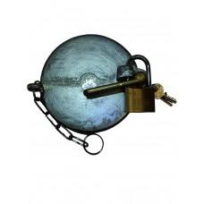 Single Arm Locking Cap C/W Padlock