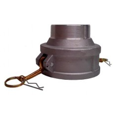 "4"" Female Camlock X 3"" Male Thread Coupling"